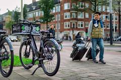 Trolley // Autumn Amsterdam (Merlijn Hoek) Tags: amsterdam merlijnhoek fotografie fotografiemerlijnhoek streetphotography street bike bikes fiets fietsen zuidoost amsterdamzuidoost