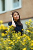01.10.2017 (Polly Bird Balitro) Tags: sara portrait people girl photowalk helsinki arabia suomi finland autumn colours flowers autumn2017 october2017 diary blog nikonaf135mmf2dc nikondf pollybalitro