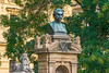 Viteslav Halek Bust (fotofrysk) Tags: statue bust vitelsavhalek poet journalist writer 19thcenturynew townstare mestoeastern europe trippragueprahaczech republicafs nikkor 70300 4556 gnikon d7100 201709216785