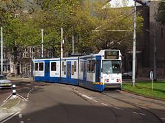 GVB 901 (jvr440) Tags: tram trolley strassenbahn amsterdam gvb 11g bn hangbuik dubbelkop trapwagen