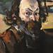 CEZANNE,1875 - Portrait de l'Artiste (Orsay) - Detail 06