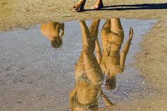 My space, snap, my picture (E · Doughty) Tags: beach reflections sand canon canet de berenguer sagunto valencia