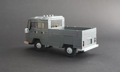 Lego 1967 Volkswagen T2 Doka - 02 (Jonathan Ẹlliott) Tags: volkswagen t2 crewcab transporter doka vw