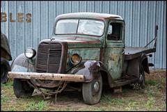 Old Minnesota Farm Truck (newfrontier08) Tags: nikon d7100 nikkor wi wisconsin old truck junk classic rusty rust antique