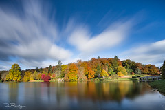 Autumn Colours (DanRansley) Tags: danransleyphotography nationaltrust stourhead wiltshire autumn fall lake landscape seasons sky trees water reflection leaves ntchallenge