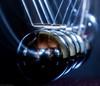 Newtonin kehto - Newton's cradle (jyrki huusko) Tags: motion metallic balls newton cradle macro canon pendulum physics fashinatingphysics