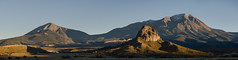 Goemmer Butte and the Spanish Peaks (Christopher J May) Tags: explored explore panorama stitched laveta colorado co spanishpeaks goemmerbutte landscape afternoon goldenhour