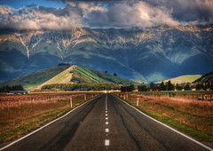 NZ Adventure (Stuck in Customs) Tags: newzealand travel adventure photography workshop trey ratcliff stuckincustoms stuckincustomscom hdr hdrtutorial hdrphotography hdrphoto aurorahdr landscape mountains road