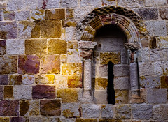 Románico (Walimai.photo) Tags: piedra stone window románico romanic zamora spain españa panasonic lx5 lumix texture textura