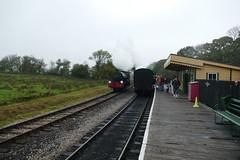 Running round (Elsie esq.) Tags: 060st hunslet isleofwight locomotive railway saddletank tanklocomotive
