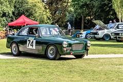 Gilbern-MG returning to the Paddock (John Tif) Tags: 2017 crystalpalace gilbernmg car motorspot