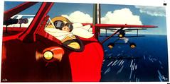 'When Pigs Fly' (edenpictures) Tags: miyazakiartshow hayaomiyazaki spokenyc spokeart artgallery galleryshow exhibit anime animation porcorosso dogfight airplanes