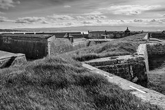 Fort George - Nr Inverness (weejono) Tags: fort george inverness mod museaum working base moray firth cromarty black isle fujifilm xt2 23mmf2 90mmf2 lightroom acros classic chrome walls defence canon regiments barracks history