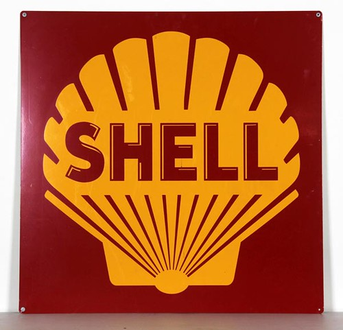Large Shell Sign ($448.00)