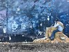 Jagger Sky at Night, Stoner's Delight (Roblawol) Tags: russia fareast asia vladivostok art artistic mural graffiti streetart sky mickjagger rollingstones stars galaxy imaginative unexpected