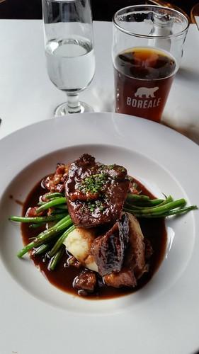 Restaurant Holder - braised beef cheek à la bourguignonne