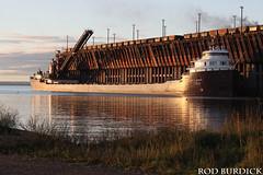 keb10417ldsrise2_rb (rburdick27) Tags: kayeebarker interlakesteamshipcompany marquette lakesuperior oredock sunrise