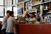 Waiter and customers (Guillaume DELEBARRE) Tags: canon 6d ef85mmf12ii 85 f12 wideopen life bar café waiter people bokeh colors serveur clients france lille garesaintsauveur candid