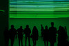 Shades of green - Milano (DecaFlea) Tags: milan milano italia italy hangar bicocca art color light dark darkness fontana lucio green luci verdi tubular people explored explore exibition accademia academia
