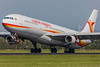 Airbus A340-300 Surinam Airways PZ-TCR MSN 242 (Guillaume Besnard Aviation Photography) Tags: ams eham amsterdamschiphol schipholairport plane polderbaan aircraft airplane canoneos1dsmarkiii canonef500f4lisusm airbusa340300 surinamairways pztcr msn242 airbusa340 cn242