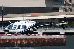 Bell 206L-4 Long Ranger N53ZA (NTG's pictures) Tags: new york hudson east river cruise helicopters n53za bell 206 206l4 long ranger