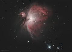 Orion Nebula (Themagster3) Tags: orionnebula astronomy astrophotography nightsky night nebula