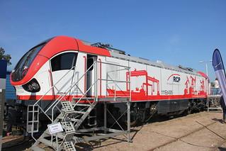RCP 111Ed-005 , TRAKO Railway Fair , Gdańsk Stadion EXPO train station 29.09.2017