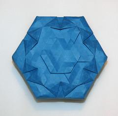 35-Magic ring compact (mganans) Tags: origami tessellation box caja