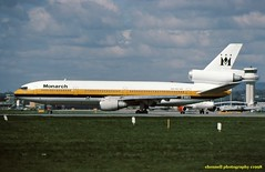 G-DMCA DC-10-30 Monarch (ChrisChen76) Tags: gatwick dc10 dc1030 monarchairlines uk