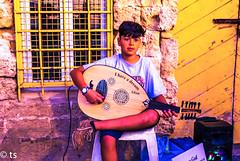 Street performance in the port of jaffa1 (tchia sheffer) Tags: