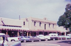 Taos, New Mexico - August 1981 (Stabbur's Master) Tags: taos taosnm newmexico downtowntaos westernusa westernus west southwestusa