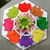 Rangorigami.... (Shachi2016) Tags: origami modular mandala rangoli units colorful paper paperart paperfolding modularorigami origamimandala origamistar star hexagon