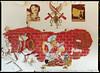 Installation, N°91 (der vollkommen abgedrehte Metzger, N°01) (fuseholder) Tags: mamiya645protl mamiya645 fujipn160ns gssdabandoned sovietunionabandoned sovietmurals mediumformat
