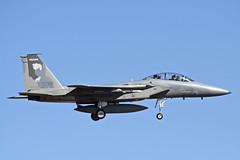 McDD F15B EAGLE 76-0139 USAF OREGON ANG (shanairpic) Tags: jetfighter f15 eagle kingsleyfield usaf oregonang 760139