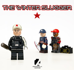 The Winter Slugger ⚾ ⭐ [A DAY IN THE LIFE] [MCU] (agoodfella minifigs) Tags: lego marvel marvellego legomarvel minifigures marvelcomics comics heroes wintersoldier captainamerica falcon meme adayinthelife steverogers buckybarnes samwilson