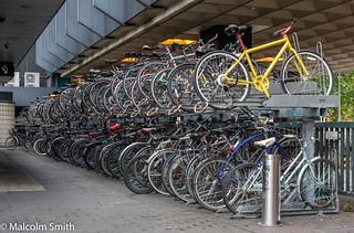 Euston Cycle Parking