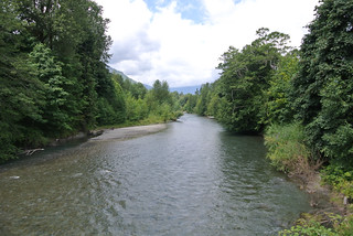 Olympic Mountain Dreams day 4 - Dosewallips River nearing the Hood Canal
