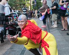 (jwcjr) Tags: atlantaga atlantapeople dragoncon dragoncon2015 people atlanta woman face costume fuji