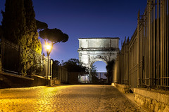 Arc de titus (nietsab) Tags: arc de titus rome tito roma italie italy nietsab canon 600d night nuit