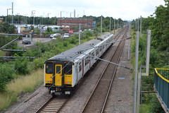 Abellio Greater Anglia 317662 (Will Swain) Tags: waltham cross station 5th august 2017 greater london capital city south east train trains rail railway railways transport travel uk britain vehicle vehicles country england english aga class abellio anglia 317662 662 317 enfield lock seen ponders end