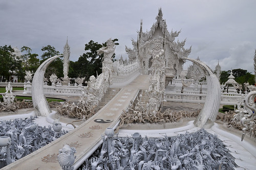 Wat Rong Khun /White Temple.(Chiang rai, Thailand)
