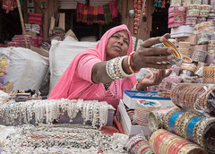 Rajasthan - Jodhpur - blue city shops-4