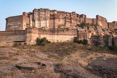 Rajasthan - Jodhpur - blue city- Mehrangharh Fort-4-3