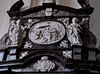 Grauhof, Goslar, Niedersachsen, Klosterkirche, annunciation altar, detail (groenling) Tags: grauhof goslar niedersachsen deutschland germany de klosterkirche monastery church stiftskirche altar wood carving woodcarving holz birth nativity nativitas jesus geburt coatofarms wappen