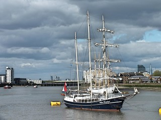 Tall Ships on the Thames 2017