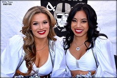 2017 Oakland Raiderettes Morgan & Allison (billypoonphotos) Tags: 2017 oakland raiders raiderettes raiderette raider nation raidernation nfl football fabulous females cheerleaders cheerleading dance dancer dancers nikon nikkor d5500 mm lens billypoon billypoonphotos silver black photo picture photographer photography pretty girls ladies women squad team people coliseum sport raiderville portrait chargers 18140 18140mm morgan allison