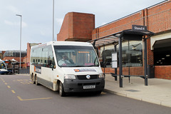 Photo of West Norfolk Community Transport YX59 ACZ 0935hrs Fakenham to King's Lynn 111017