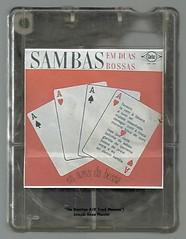 """1964 LP/ 1968 4 T - Os Azes da Bossa / Sambas em Duas Bossas - brazilian 4 track - fita cartucho de 4 pistas (""""The Brazilian 8 Track Museum"""") Tags: alceu massini vintage collection bossa nova"""