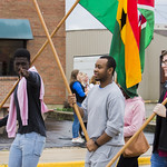 "<b>Homecoming Parade</b><br/> The international students assossiation and allies ISAA celebrated the diversity at Luther College by walking the homecoming 2017 parade. October 7 2017. Photo by Hasan Essam Muhammad<a href=""http://farm5.static.flickr.com/4506/37724118292_e3980c6b39_o.jpg"" title=""High res"">∝</a>"