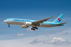 B77L Korean Air Cargo - FRA (Karl-Eric Lenne) Tags: